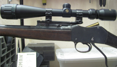 Martini-Henry Rifle Scoped Up